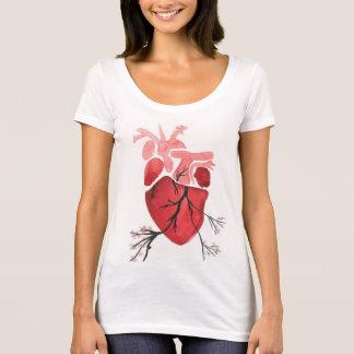 Camisa de florescência do coração