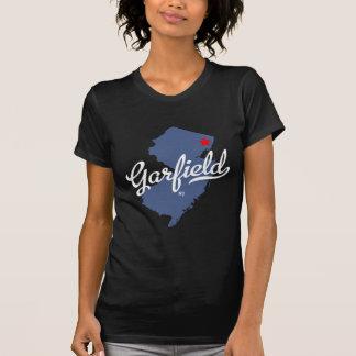 Camisa de Garfield New-jersey NJ T-shirts