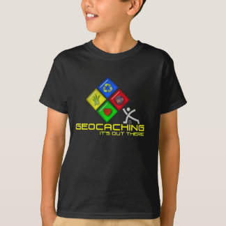 Camisa de Geocaching Stickman Geocacher T para