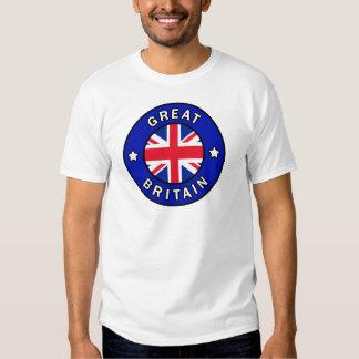 Camisa de Grâ Bretanha Camiseta