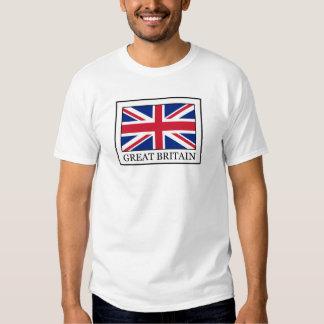Camisa de Grâ Bretanha Camisetas