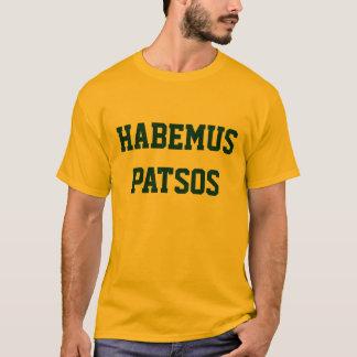 Camisa de Habemus Patsos - ouro