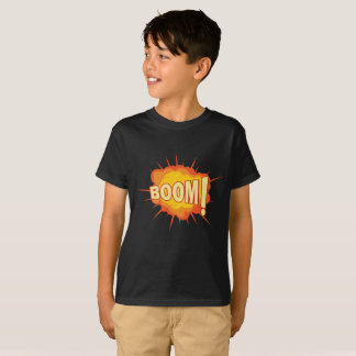 Camisa de Hanes para miúdos com crescimento da