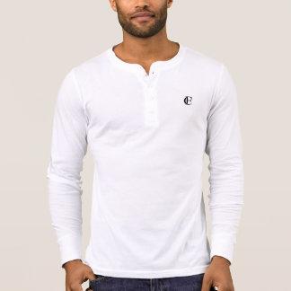 Camisa de Henley da Longo-Luva do clube do dom
