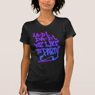 camisa de HIP HOP da velha escola das mulheres T-shirt
