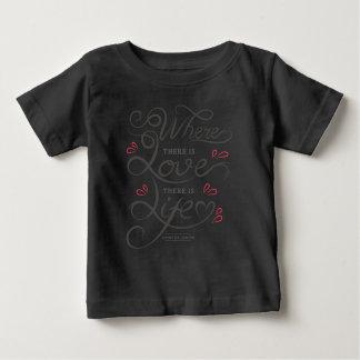 Camisa de inspiração das citações | do amor e da