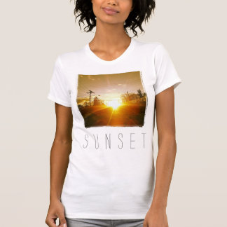 Camisa de Instagram: Por do sol