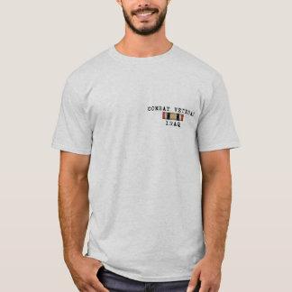 Camisa de Iraque do veterano do combate