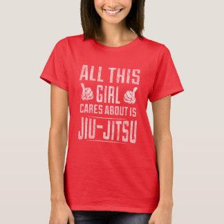 Camisa de Jiu Jitsu para mulheres