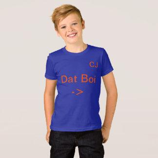 Camisa de Johnston Dat Boi T da perseguição