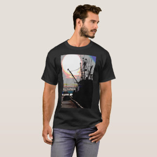 Camisa de Juneau Alaska do barco do caranguejo