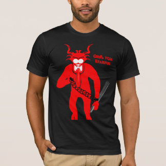 Camisa de Krampus do vom de Gruß