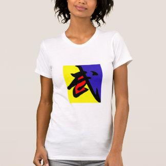 Camisa de Kung Fu - bloco da cor T-shirts