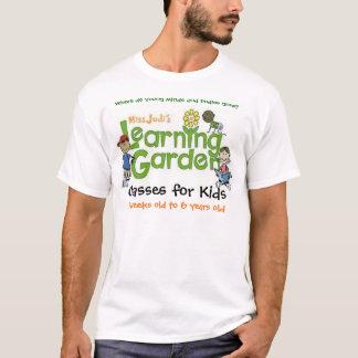 Camisa de Learning Jardim Logotipo da senhorita