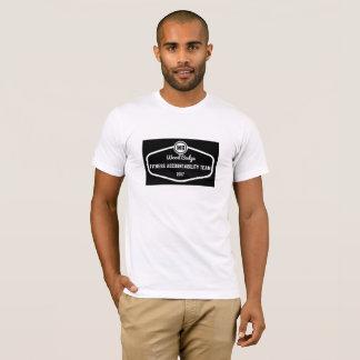 Camisa de madeira da equipe da responsabilidade da