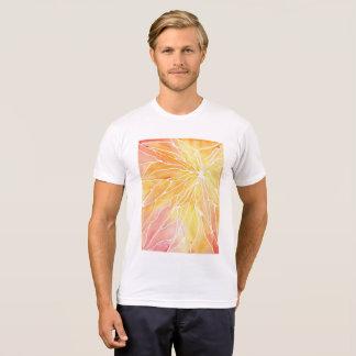 Camisa de mármore alaranjada