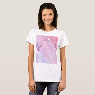 Camisa de mármore cor-de-rosa da ruptura do