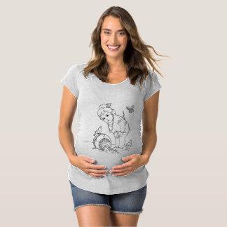 camisa de maternidade