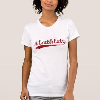 Camisa de Mathlete Tshirts