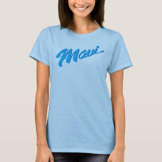 Camisa de Maui Havaí do azul de oceano das