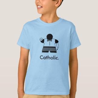 Camisa de Meeple t do comunhão do católico do