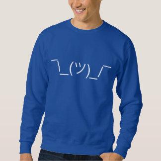 Camisa de Meme do Emoticon de Shruggie Smugshrug Moletom