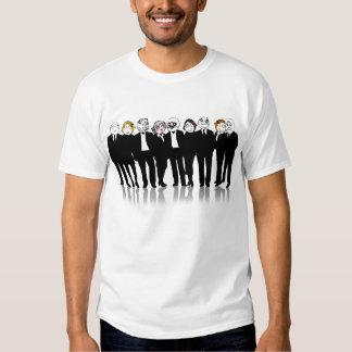 Camisa de Meme do grupo da cara da raiva Camiseta