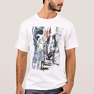 Camisa de Monoprint do Equus