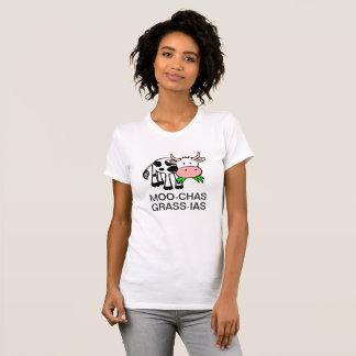Camisa de MOO-chas Grama-IAS (Muchas Gracias)