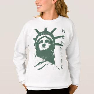 Camisa de New York da camisola da estátua da