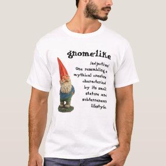 Camisa de noite do gnomo