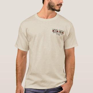 Camisa de OEF OIF com parte dianteira da fita