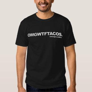 Camisa de OMGWTFTACOS T-shirts