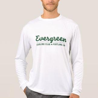 Camisa de ondulação verde do desempenho do clube