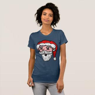 Camisa de Papai Noel dos desenhos animados