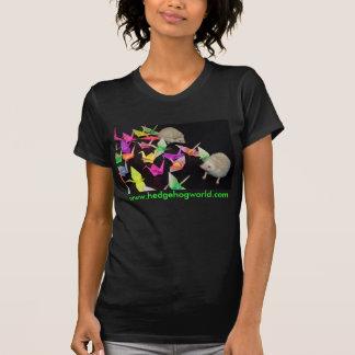 Camisa de papel dos ouriços do guindaste tshirt