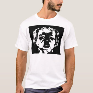 Camisa de Pekingese - o t-shirt básico dos homens