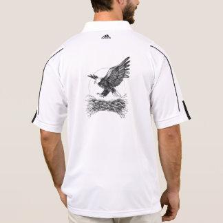 Camisa de polo da águia americana
