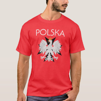 Camisa de Polska Eagle w/cross t