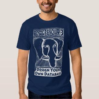 Camisa de PostgreSQL 9,3 - homens Camisetas
