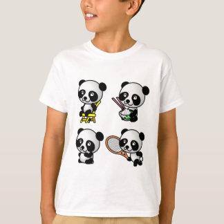 Camisa de QUATRO PANDAS - escolha o estilo -
