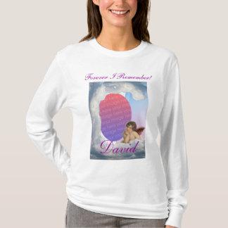 Camisa de Remebrance da nuvem das memórias