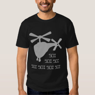 Camisa de Roflcopter Soi T (escura) T-shirt