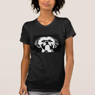Camisa de Shih Tzu - pequeno t-shirt das senhoras