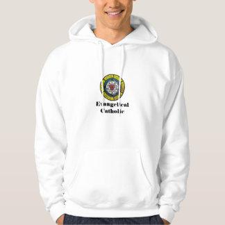 Camisa de suor católica evangélica moleton com capuz