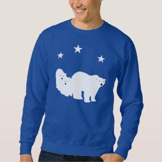 Camisa de suor dos homens dos ursos polares do