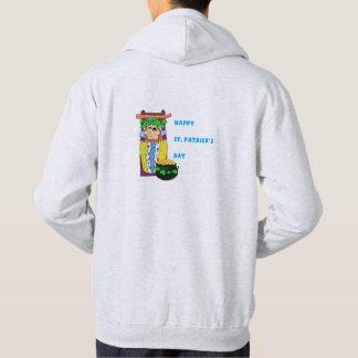 Camisa de suor encapuçado dos homens - Leprechaun