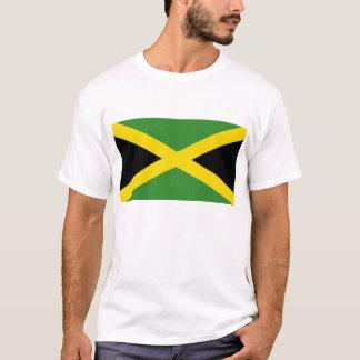 Camisa de T com a bandeira de Jamaica