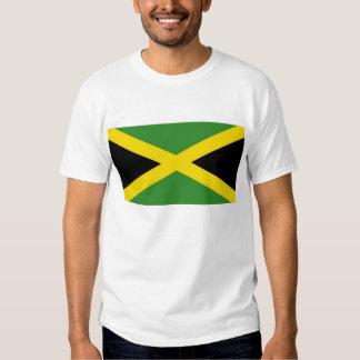 Camisa de T com a bandeira de Jamaica Camiseta