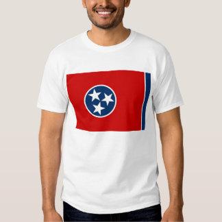 Camisa de T com a bandeira do estado EUA de T-shirts